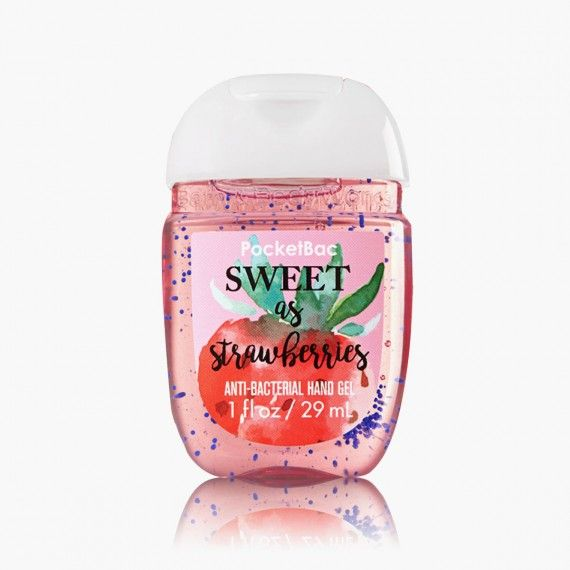 Sweet As Strawberries Bath Body Works Pocketbac Gel Anti