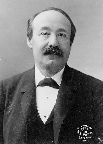 """Charles Jerome Bonaparte of the Patterson line, son of Jerome Napoleon Bonaparte and Susan May Williams, grandson of Jerome Bonaparte, Napoleon's brother and American Betsy Patterson. 1851–1921 A lawyer and progressive/liberal political activist from Baltimore.  Bonaparte was Secretary of the Navy and then Attorney General under T. Roosevelt. While Attorney General, he created the """"Bureau of Investigation."""" Married Ellen Channing Day; no issue."""