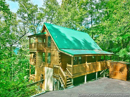 4 bedroom cabins in gatlinburg on pinterest 17 pins for Nuvola 9 cabin gatlinburg