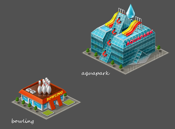 online game Airport by Sant Valentin, via Behance