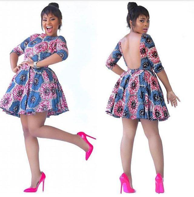 Backless African Print Mini Dress African Print Fashion Dresses African Dress Latest African Fashion Dresses