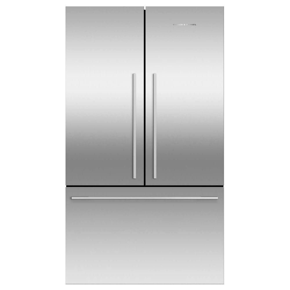 Fisher Paykel Rf610adjx5 Three Door Fridge Freezer With Ice Maker Stainless Steel Appliance City In 2020 Fridge Freezers American Style Fridge Freezer Stainless Steel Fridge