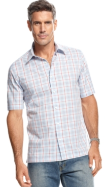 #John Ashford             #Men                      #John #Ashford #Shirt, #Assorted #Short-Sleeve #Plaid #Shirts                 John Ashford Shirt, Assorted Short-Sleeve Plaid Shirts                                                  http://www.snaproduct.com/product.aspx?PID=5482936