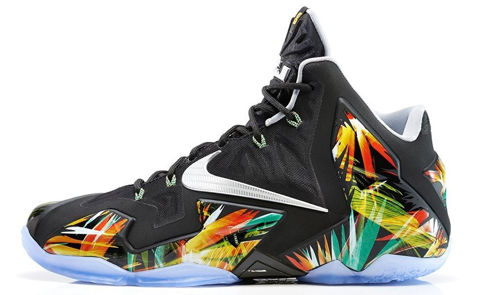 2014 New Nike Lebron 11 Everglades Sale Online $109 http://www.blackonshoes