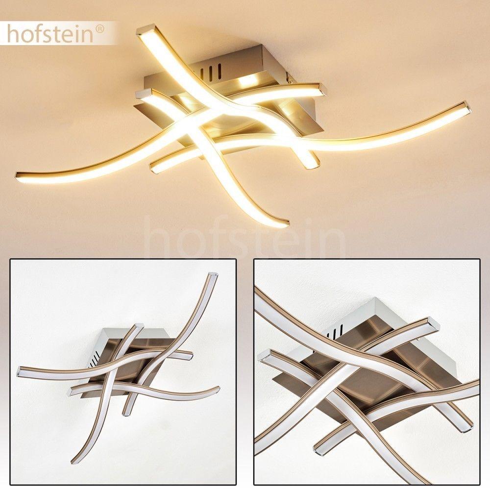 LED Wellen Design Decken Leuchte Flur Dielen Lampen Wohn Schlaf Raum Beleuchtung