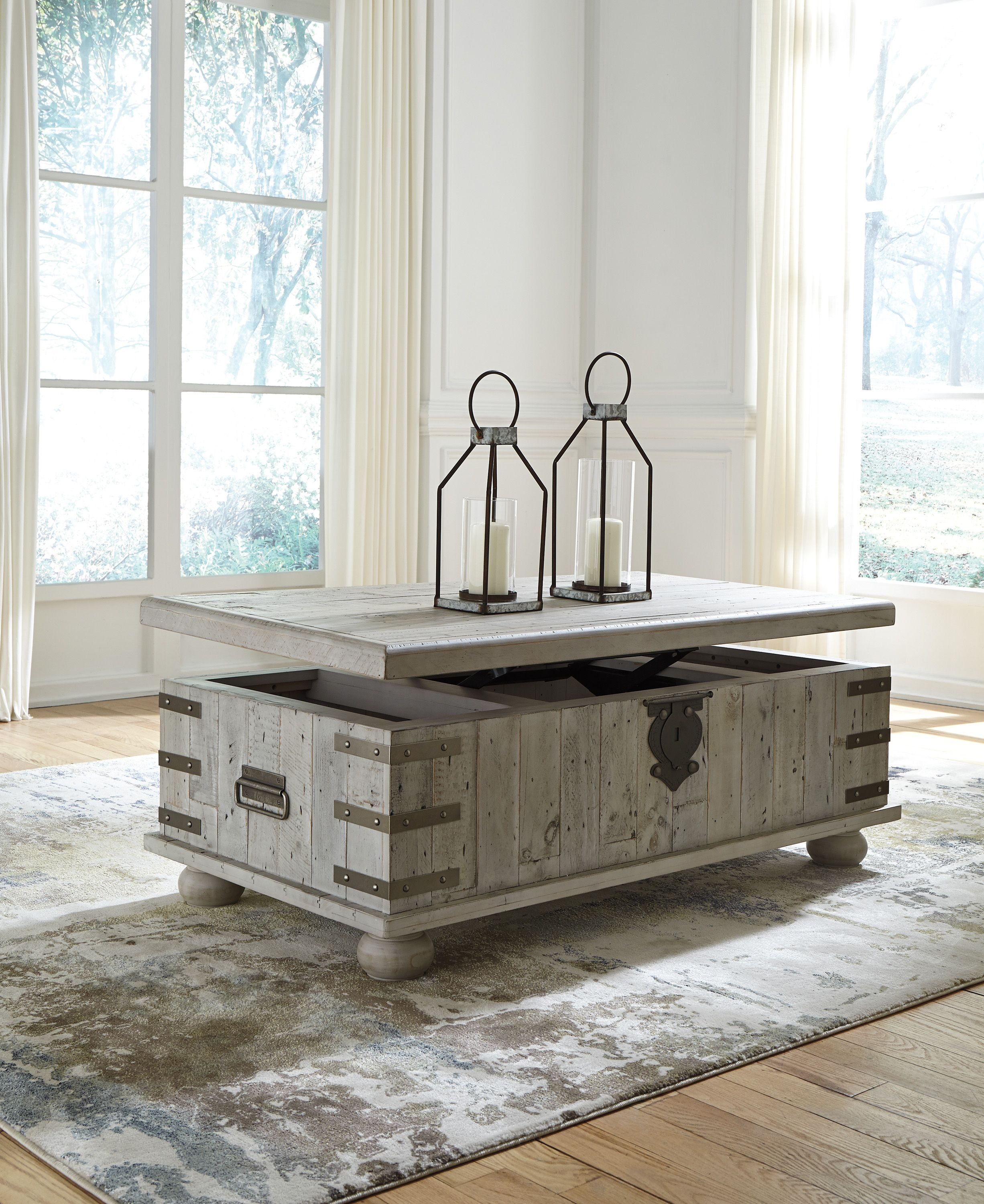 Ashley Carynhurst Lift Top Coffee Table Coffee Table With