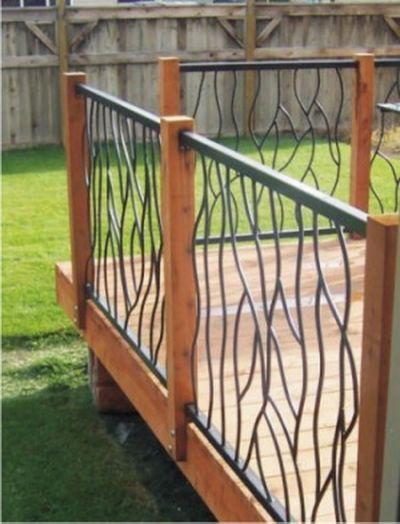 20 Creative Deck Railing Ideas Garten With Images Deck Railing Design Railings Outdoor Deck Railings
