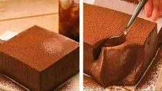 Flan au chocolat avec Thermomix #dessertlegerfacile