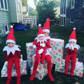 Diy Elf On The Shelf Costume Diy Elf Costume Diy For Kids Diy