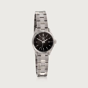 31fad33d878e TAG Heuer Carrera Women s Watch in Stainless Steel. This TAG Heuer Carrera  women s watch in stainless steel features Swiss quartz movement