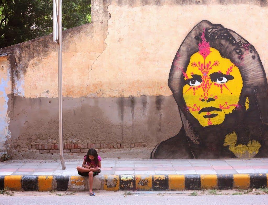Stinkfish New Murals - Delhi, India