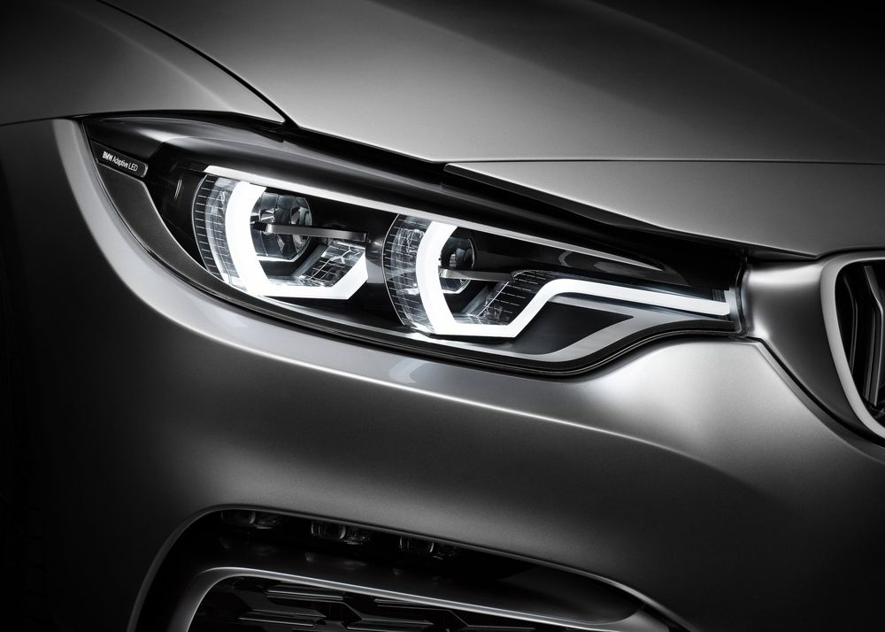 Bmw 4 Series Coupe Concept Headlight Lamp Pinterest Bmw Cars