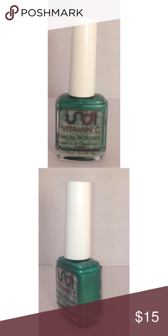 indi nail polish ~ Forest Green -Handmade - 8-Free Formula: No ...