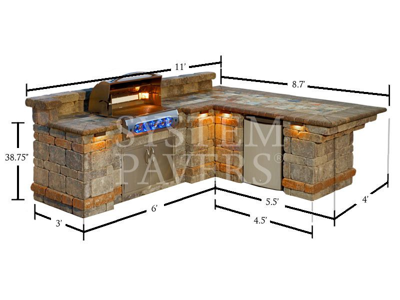The Perfect Bbq Comes Together With Bbq Islands Outdoor Bbq Outdoor Kitchen Design Outdoor Kitchen