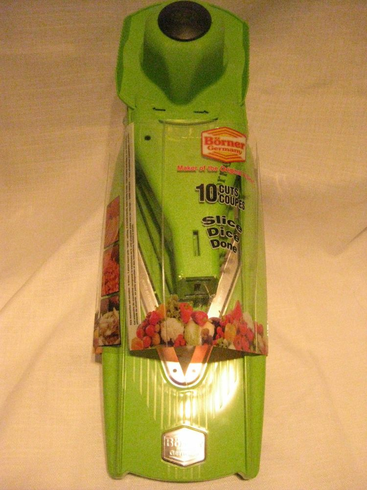 Borner Germany Slicer V7000GN NEW in Package Green