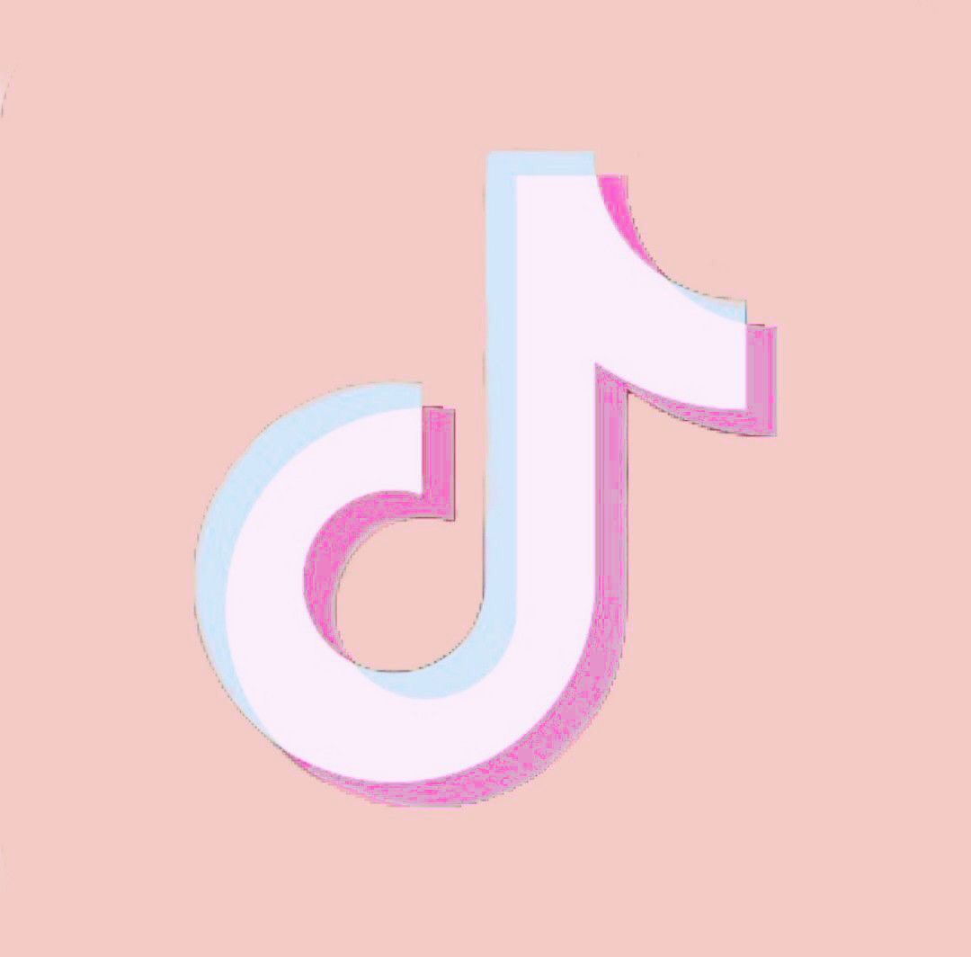 TikTok pink icon in 2020 Iphone wallpaper app, Iphone