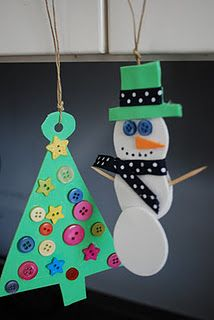 Easy Foam Ornaments For Kids Craft Ideas Christmas Crafts