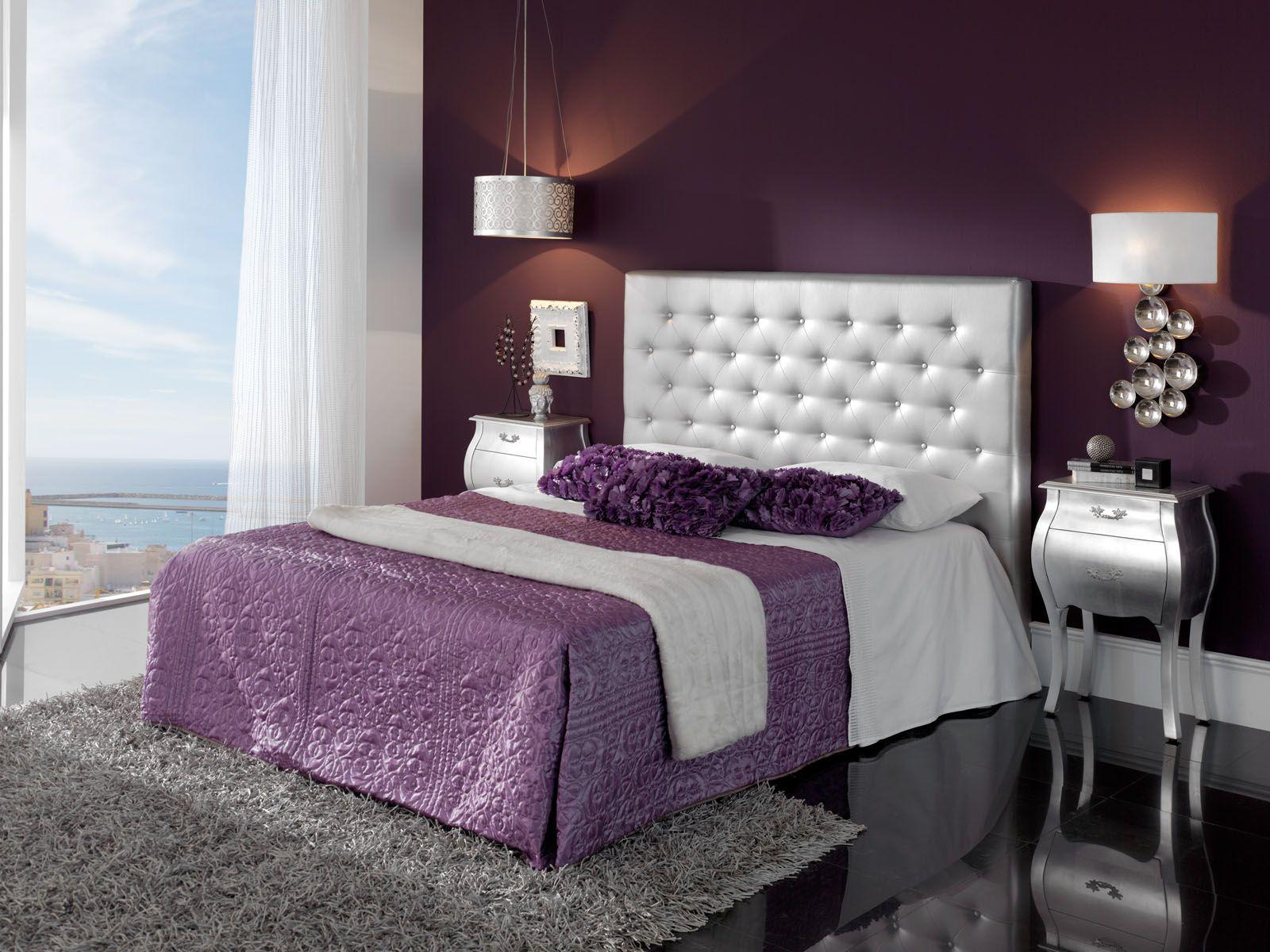 Ambiance NICE ARGENT pour chambres  coucher Meubles fabriqués en