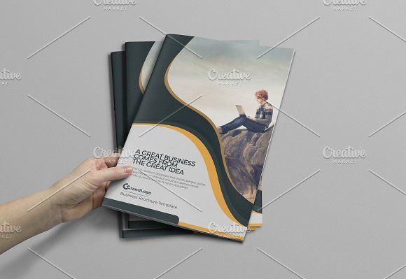 Corporate Bifold Business Brochure a4 brochure templates psd a4 - business pamphlet templates free