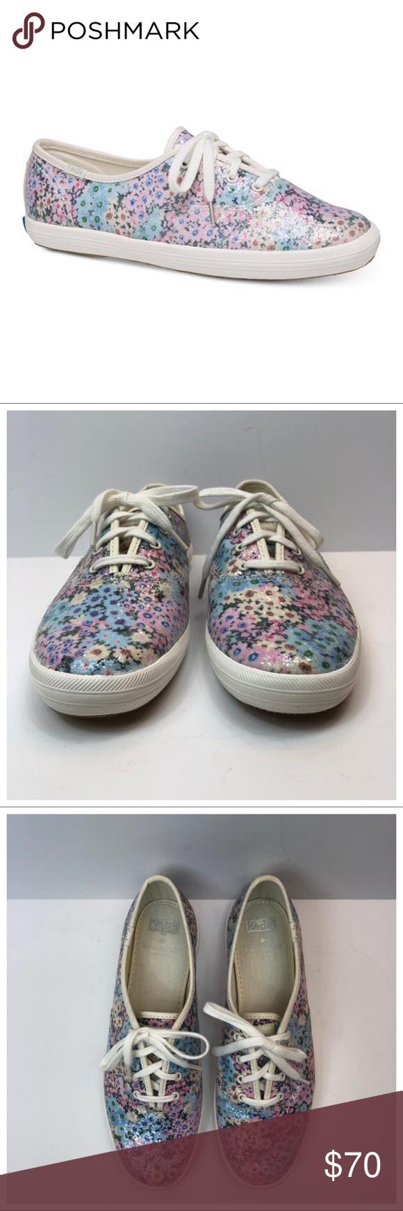 Kate Spade Keds Daisy Garden Sneakers Size 8 Kate Spade Keds Daisy Garden Sneake…