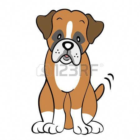 How To Draw A Boxer Dog Step By Step Easy
