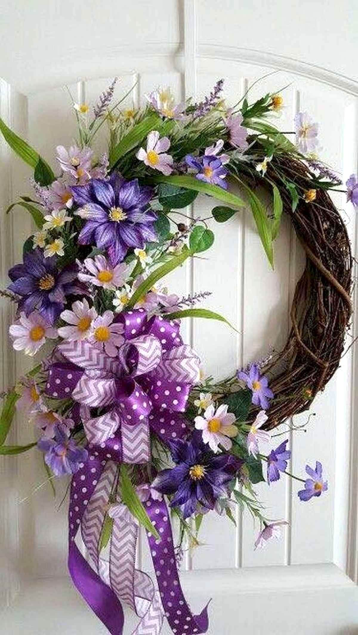 Photo of 45+ The Most Cheerful Spring Wreaths Decor Ideas and Design