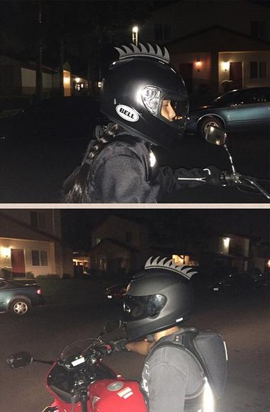 101 Awesome Motorcycle Helmet Mohawks Motorcycle Helmets