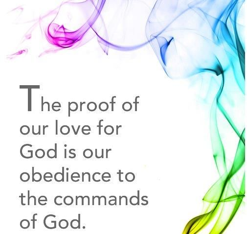 God wants our obedience, not our repentance!