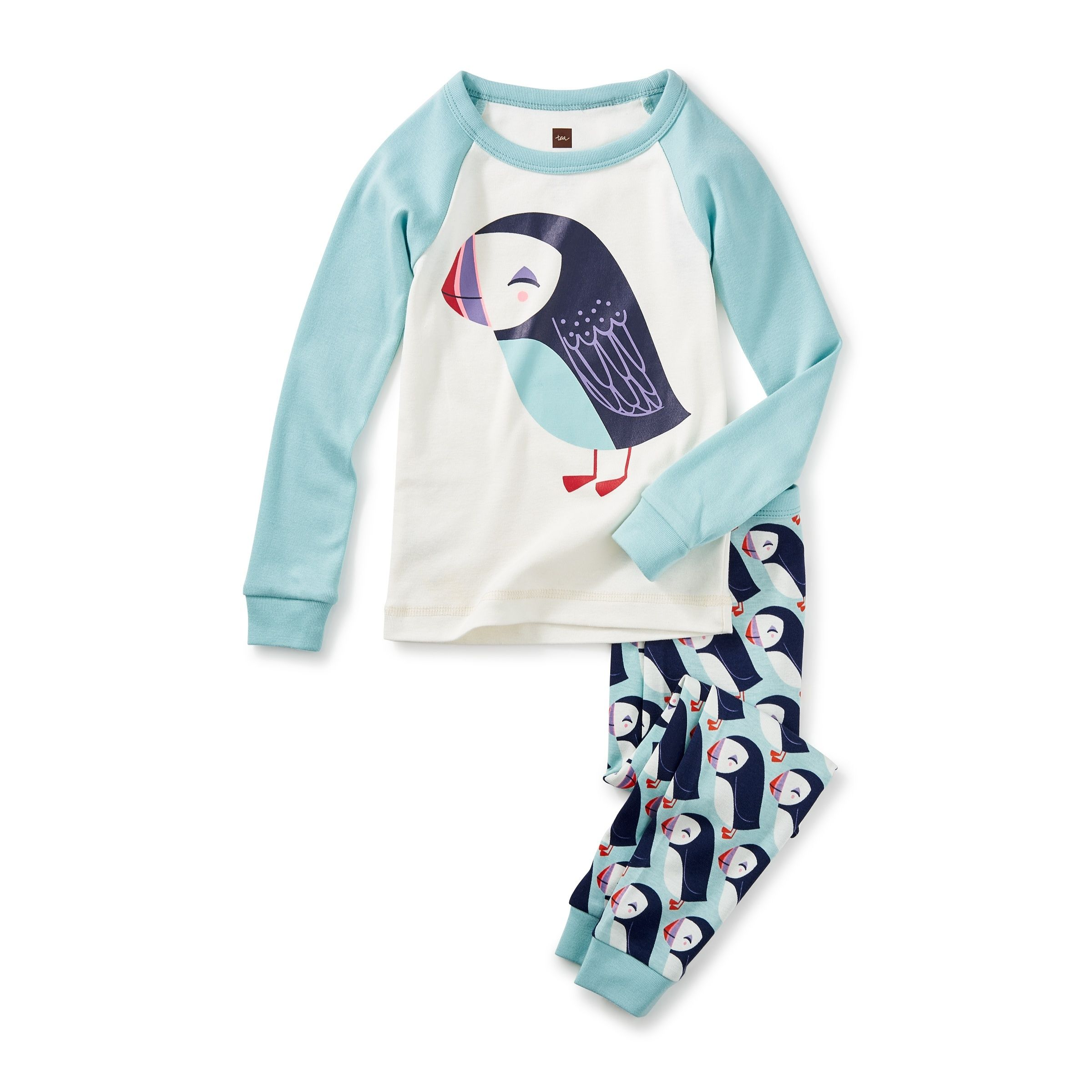 "ef76f0c12 Often called the ""clown of the sea"", the puffin is an adorable seabird with  a bright bill and irresistible waddle. Our signature PJs couldn't get any  ..."