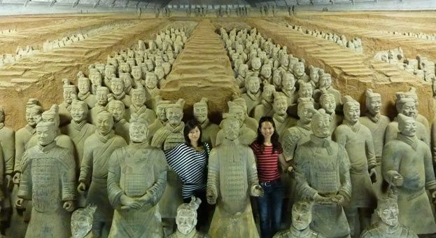 #10-Day Beijing-Xian-Guilin-Shanghai Tour shows combination of modernized China as well as Qin and Ming-Qing royal cultural relics in Beijing such as the Great Wall and Forbidden City, the ancient fascination of China in Xian.  http://www.holidaychinatour.com/tour_view.asp?id=59