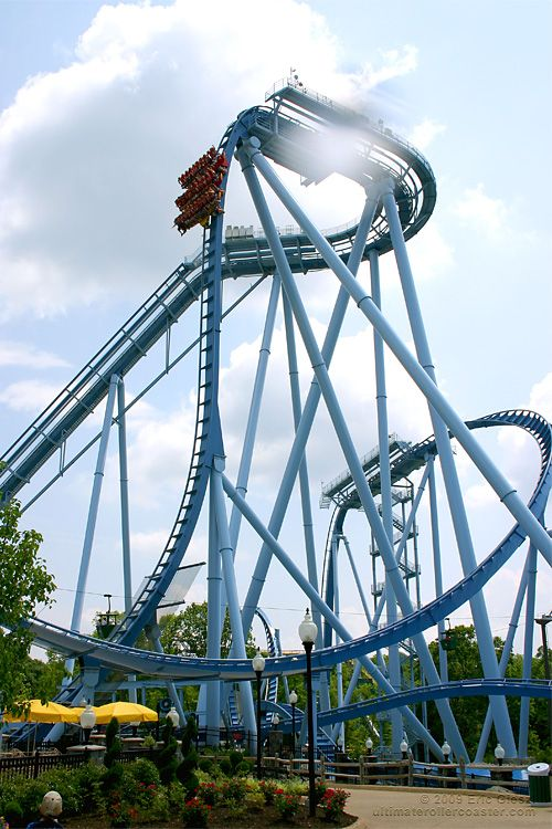 Griffon in busch gardens williamsburg at williamsburg va - Busch gardens williamsburg rides ...