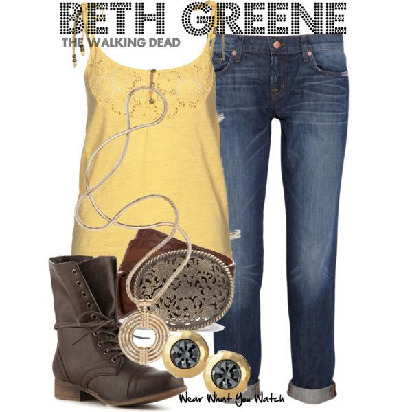 """The Walking Dead"" by kerogenki on Polyvore"