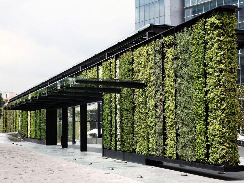 Jardines verticales park plaza por verde vertical house for Verde vertical jardines verticales