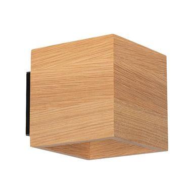 Kinkiet Block Wood Drewniany G9 Spot Light Kinkiety W Atrakcyjnej Cenie W Sklepach Leroy Merlin Wood Light Spotlight
