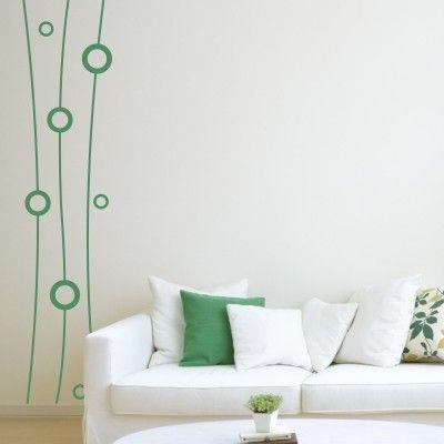 Fantasia Di Cerchi   Stickers Murali   Idee per decorare ...