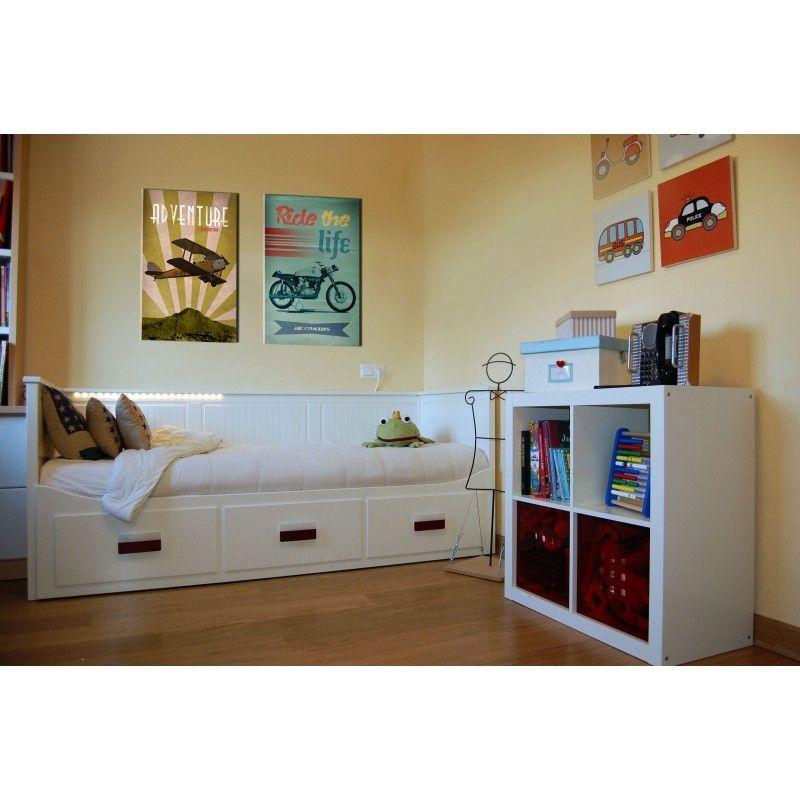 cuadro vintage de avi n para decoraci n habitaci n juvenil