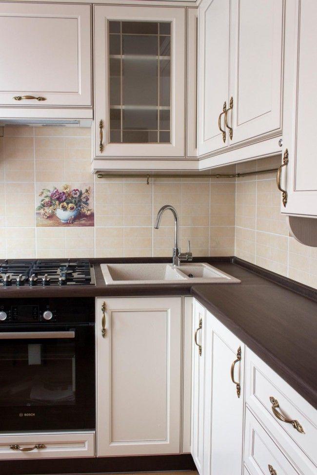 кухни с колонкой в хрущевке фото дизайн малогабаритные 6 квм 5