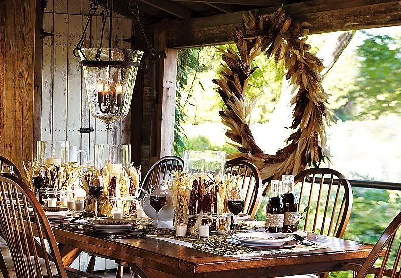 Elegant 60 Stylish Table Settings For Thanksgiving   Tablescape Ideas And  Inspiration {Daily Buzz Moms 9X9