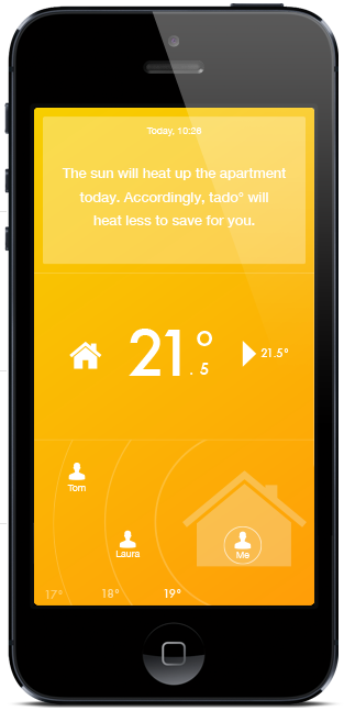 The app that controls your heating and saves energy. With