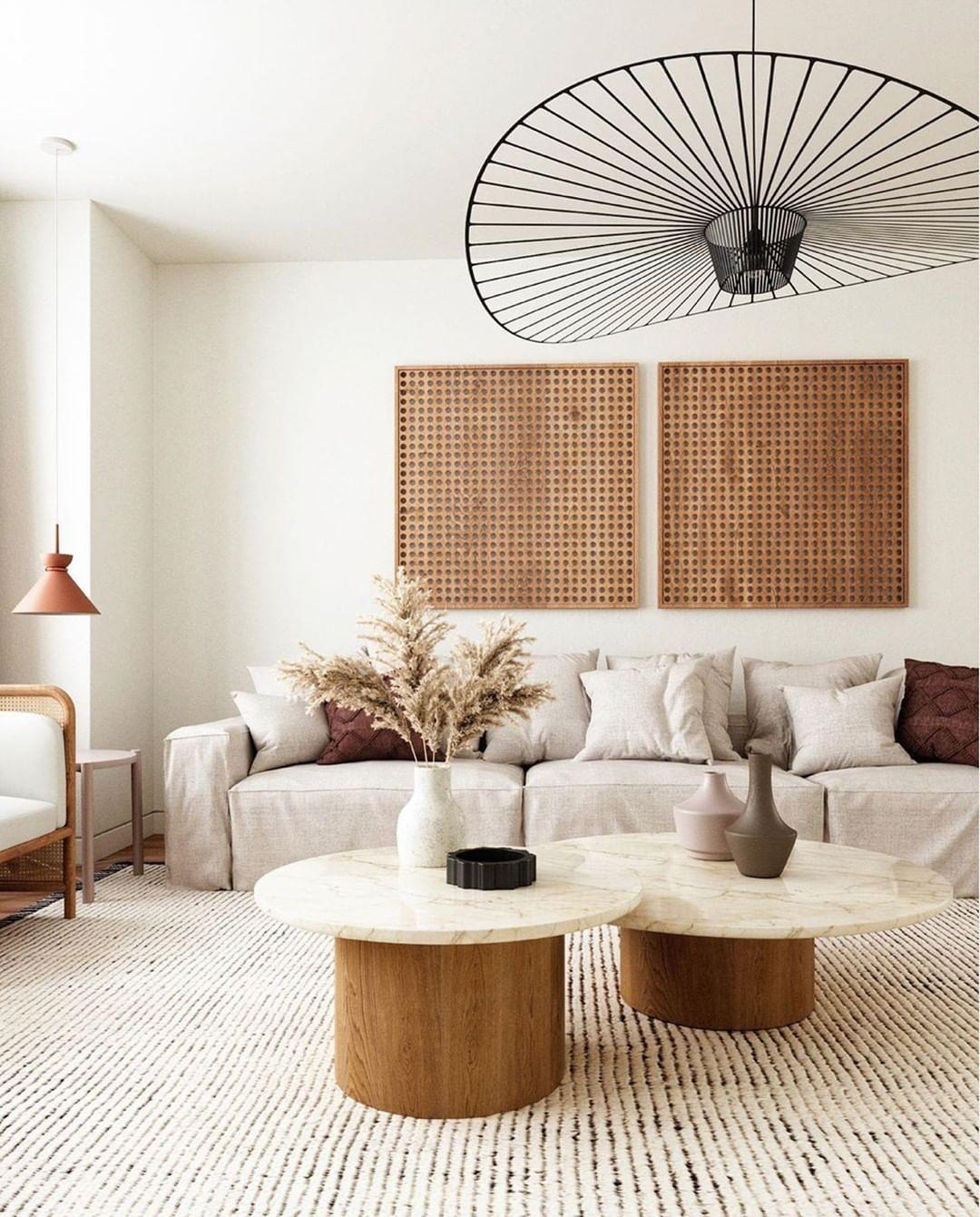 Mit Sanften Erdtonen Liegt Man Immer Richtig Ladet Eure Freunde Zu Westwing Ein Und Wir Schenken Euch In 2020 Home Living Room Interior Design Interior