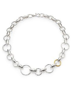 GURHAN - Wheatla 24K Yellow Gold & Sterling Silver Marquis Chain Necklace
