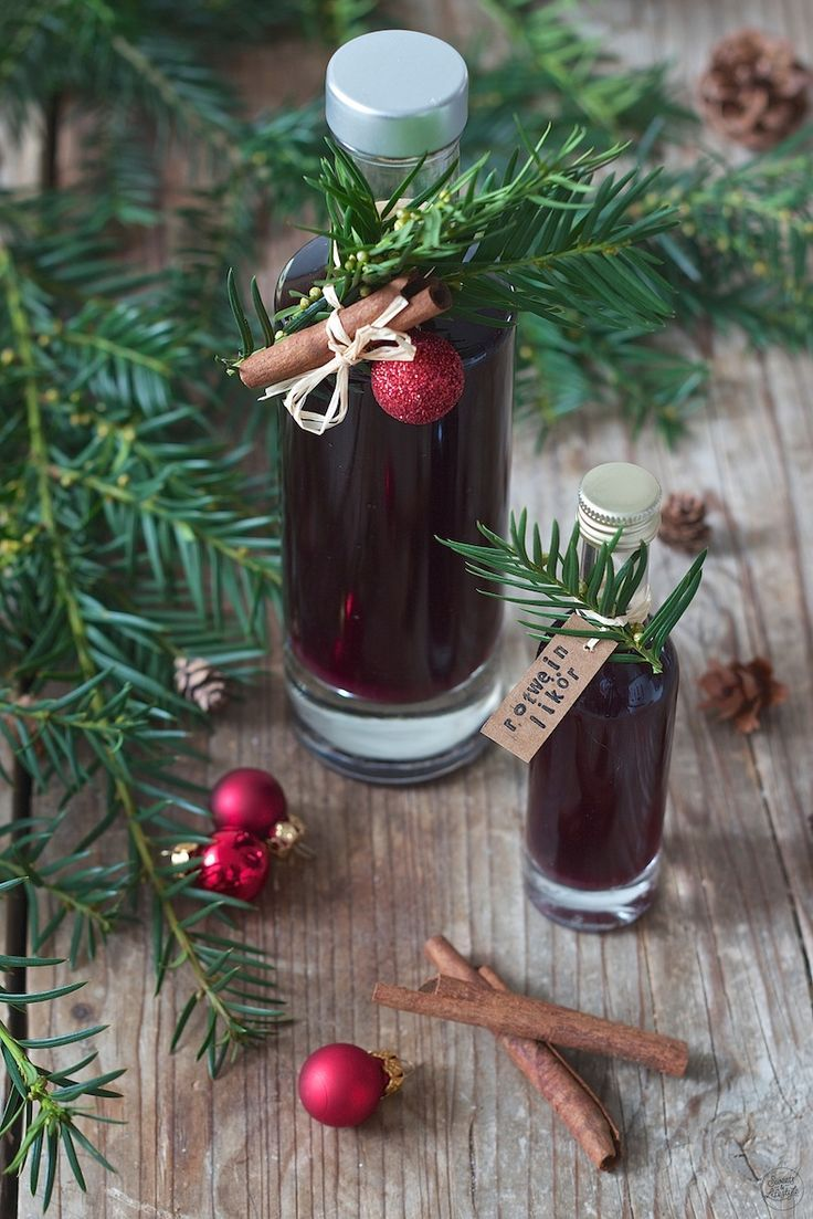Selbst gemachter Rotweinlikör - Rezept - Sweets & Lifestyle® #gincocktailrecipes