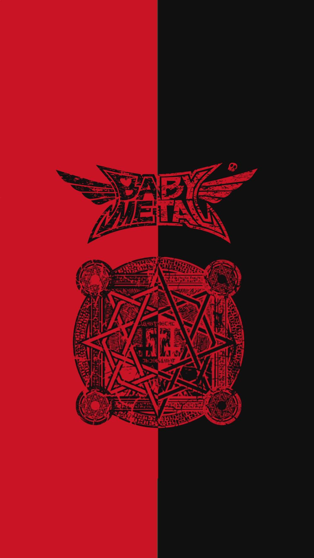 Babymetal かっこいいロゴ 魔法陣 Heavy Metal Metal Bands Heavy