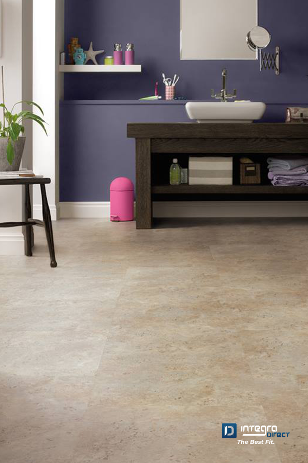 The light neutral tones of the 'Indiana' LooseLay Vinyl