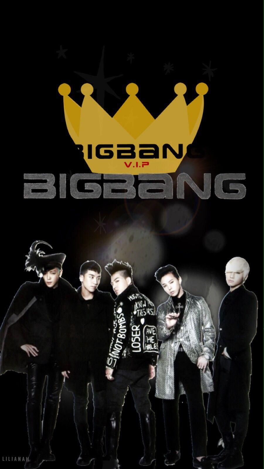 Bigbang Iphone Wallpaper Made By Lilianah Bigbang Vip Bigbang 壁紙 ビッグバン ビックバン