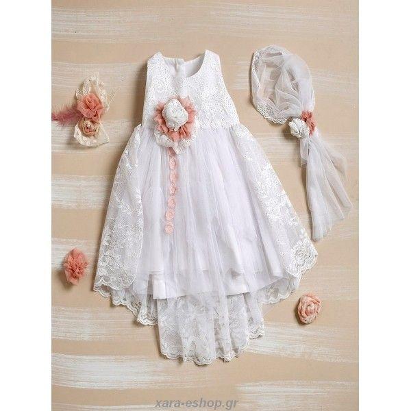 66fae5e938fb Επώνυμο Βαπτιστικό Φόρεμα Lollipop Φ330 Οικονομικό-Τιμές-Προσφορά ...
