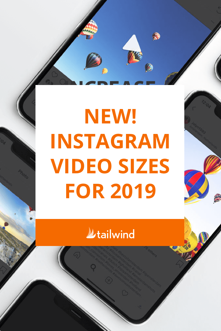Required Instagram Video Sizes and Dimensions | Instagram