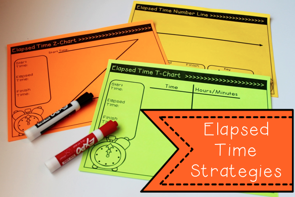 Elapsed time strategies and activities number line strategy  chart  great common core ideas also unit games assessments pinterest rh
