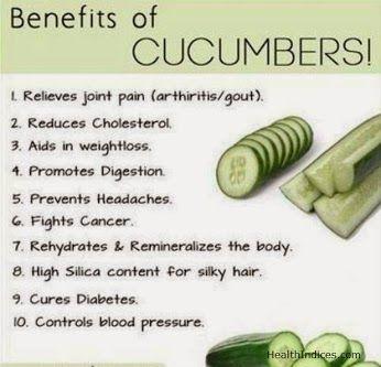 #Health benefits of #Cucumber YOUR HEALTH - Community - Google+