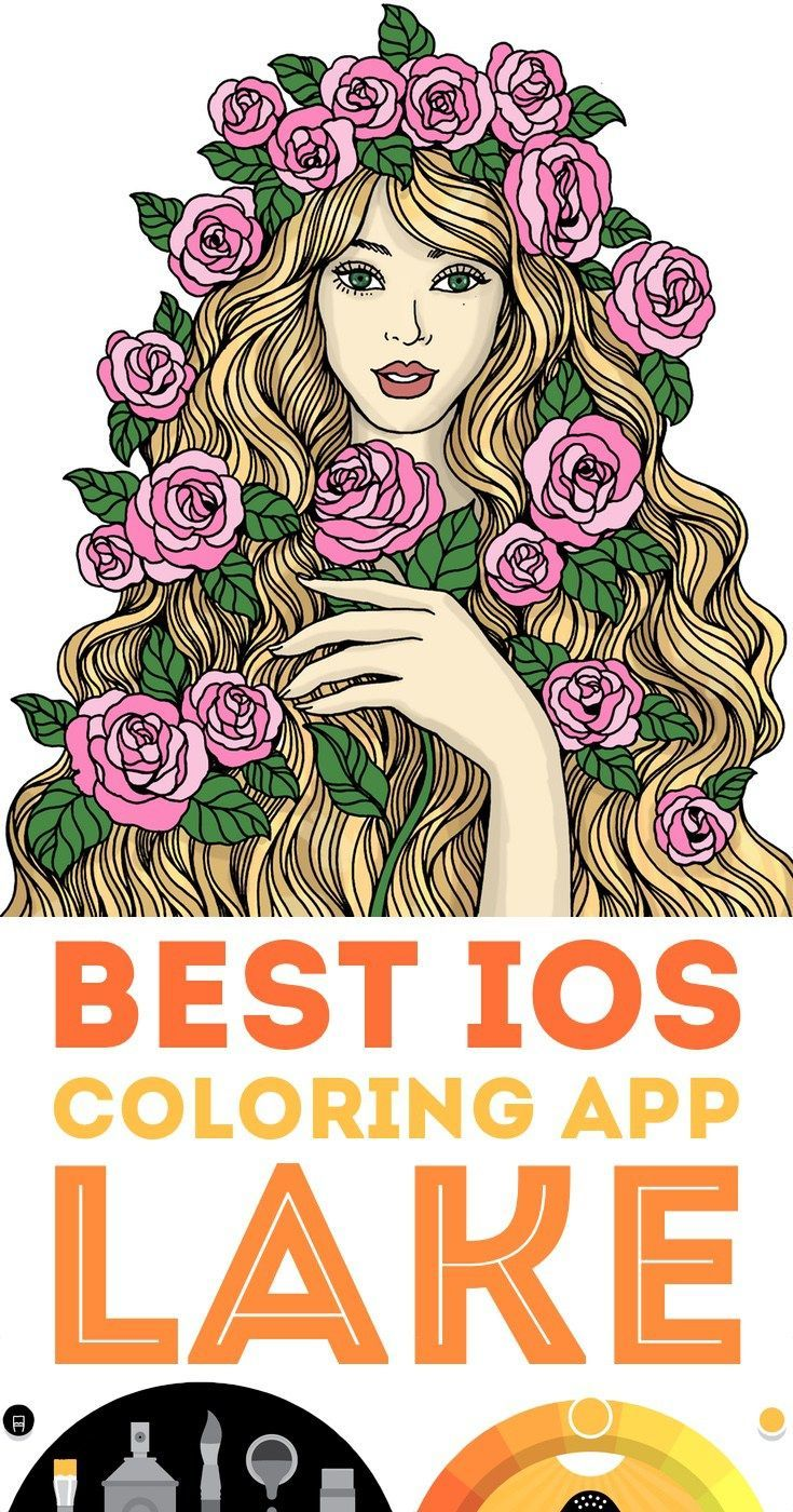 Lake Best Coloring App for iPhone and iPad Coloring